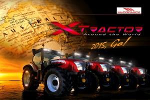 Cztery ciągniki McCormick przejadą przez Australię