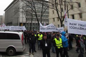 Wielki protest mleczarzy 7 września w Brukseli