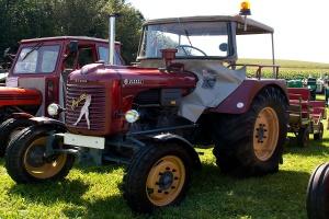 Niemcy: 5,2 tys. km ciągnikiem Steyr z 1956 r.