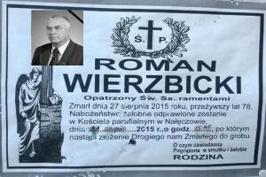 Zmarł Roman Wierzbicki