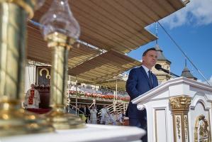 Prezydent Duda: chleb nie jest dziś sprawiedliwie rozdzielany