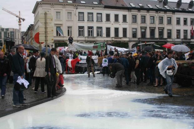 Rolnicy szykują się na protest w Brukseli