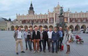 Delegacja holenderskich farmerów w Polsce