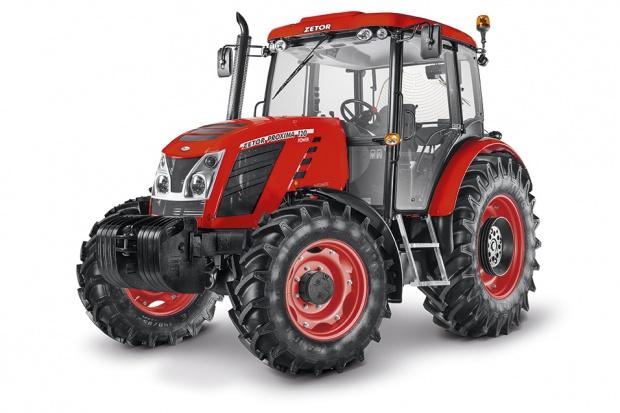 Zetor: czerwone felgi we wszystkich traktorach jeszcze w tym roku