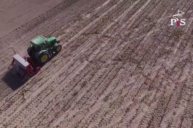 Nowy spot PiS o rolnictwie: Nie pozwolimy, żeby nazywano nas frajerami