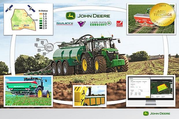 """Connected Nutrient Management ze złotem targów """"Agritechnica 2015"""""""