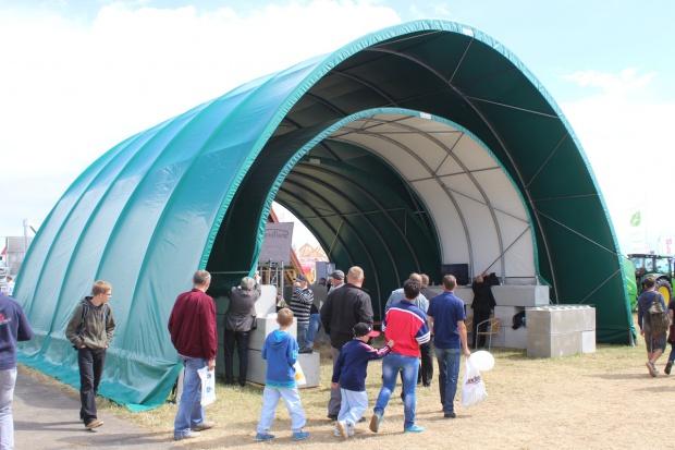 Hale namiotowe mogą być dofinansowane z Modernizacji
