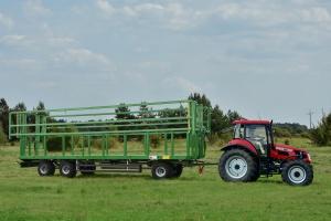 Pronar: nowa przyczepa do transportu bel T028 KM