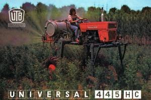 Maszyny rolnicze z Socjalistycznej Republiki Rumunii