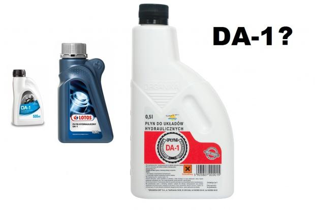 """Płyn """"hamulcowy"""" DA-1 do starych ciągników - czy warto go używać?"""