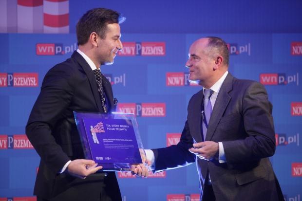 """URSUS wyróżniony tytułem """"Tego, który zmienia polski przemysł"""""""
