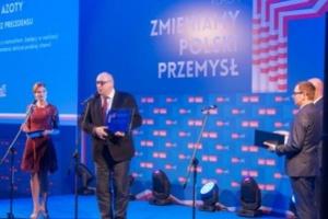 """Grupa Azoty z tytułem """"Tego, który zmienia polski przemysł"""""""