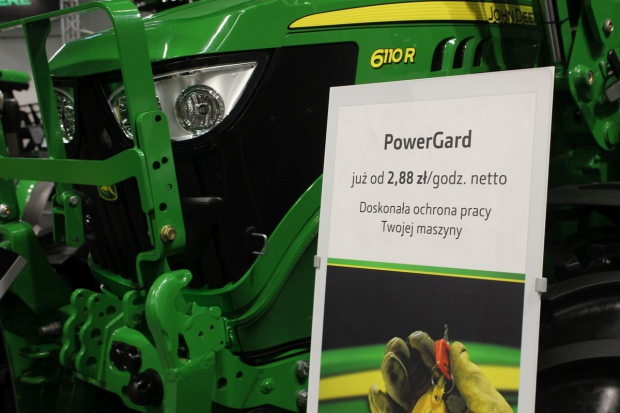 John Deere wprowadza pakiety pogwarancyjne  PowerGard