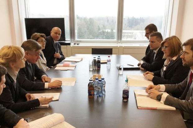 Spotkanie z ministrem rolnictwa Słowacji
