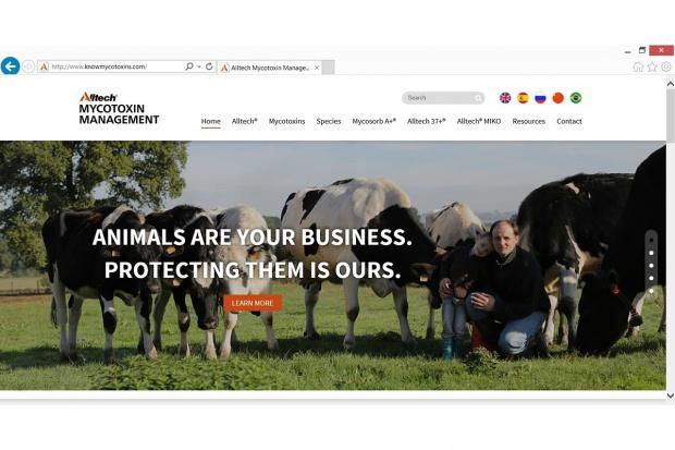 Odnowiona witryna Knowmycotoxins.com firmy Alltech, bardziej przyjazna do użytku w terenie!