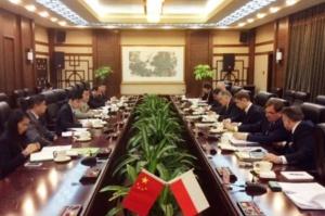 Chiny: Polska liczy na dalszą współpracę w dziedzinie rolnictwa