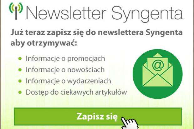 Bądź na bieżąco z promocjami Syngenta!
