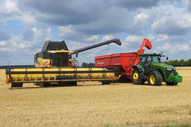 Ukraina: Ponownie duże zbiory zbóż