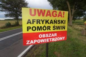 Białystok: Protest rolników przed urzędem wojewódzkim w zw. z ASF