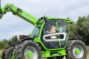 Nie tylko dla rolnika – test ładowarki Merlo TF35.7