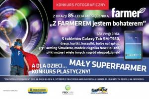 Wyślij zdjęcie, wygraj tablet. Konkurs foto dla czytelników Farmera! A dla dzieci - konkurs plastyczny!