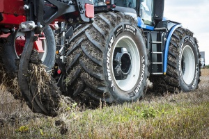 Technologia Michelin Ultraflex na Agro Show