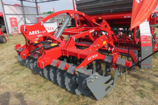 Nowy agregat Unia Group Ares na Agro Show 2016