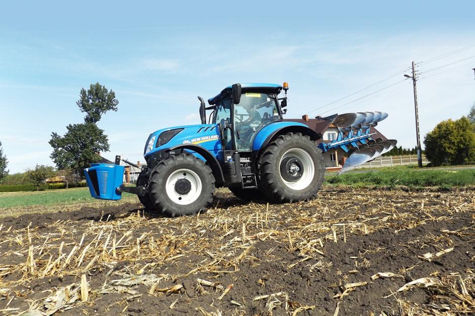 New Holland T7.210 - mocny i komfortowy, test Farmera