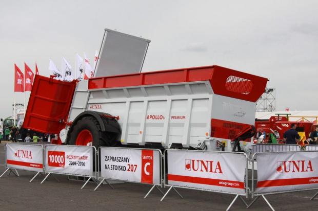 Unia Group wyprodukowała 10 tys. rozrzutników