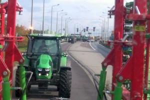 Drugi dzień protestów rolników w powiecie bialskim
