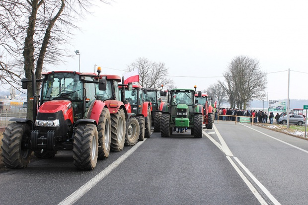 W czwartek protest rolników na trasie Biała Podlaska- Międzyrzec Podlaski