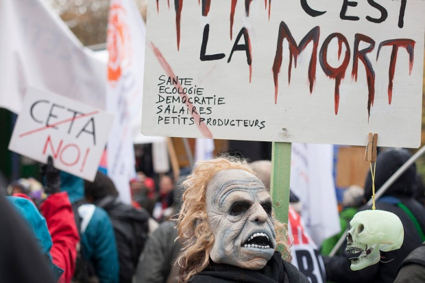 Politycy Kukiz'15 apelują o udział w sobotniej demonstracji przeciwko CETA