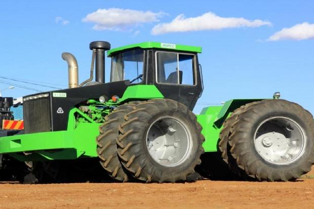 Agrico - potężne ciągniki z RPA