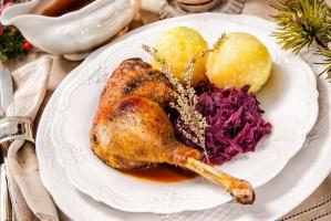Gęsina na świątecznym stole – smaczna i zdrowa