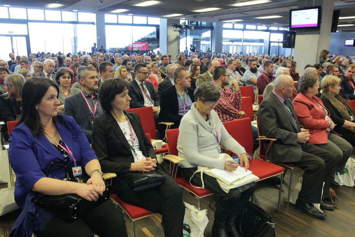 Tłumy rolników na Narodowym - IV edycja konferencji
