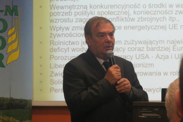 Zagrożenia i szanse dla rolnictwa. Eksperci spotkali się w Olsztynie