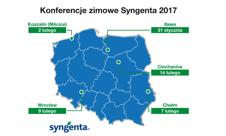 Cykl Konferencji Zimowych organizowanych przez firmę Syngenta