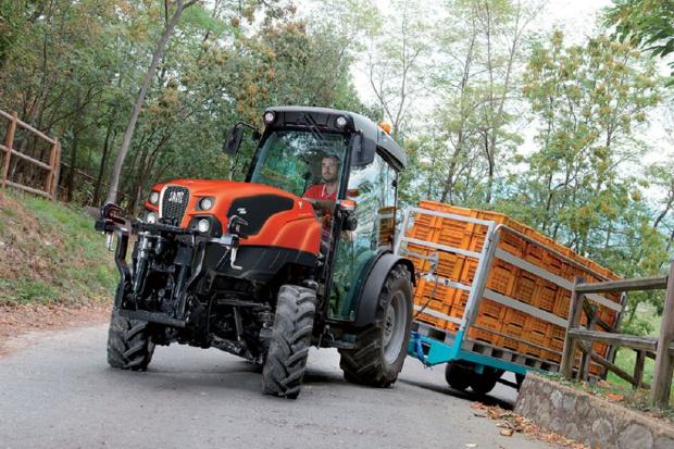 Same Frutteto - nowa gama ciągników sadowniczych