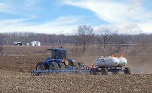 Rośnie stężenie amoniaku w powietrzu nad głównymi terenami rolniczymi świata