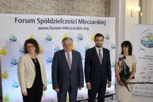 XV Forum z udziałem najważniejszych osób decydujących o rozwoju światowego rynku mleka