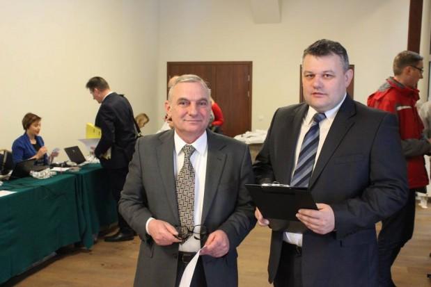 Od lewej: Wojciech Konieczny i Wojciech Denisiuk