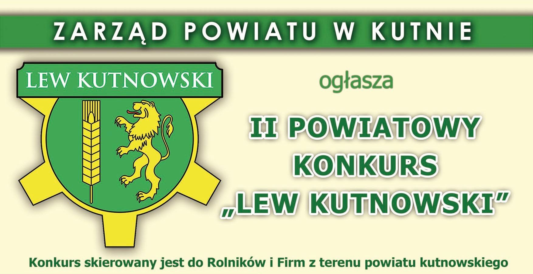 II Edycja Konkursu Lew Kutnowski 2017