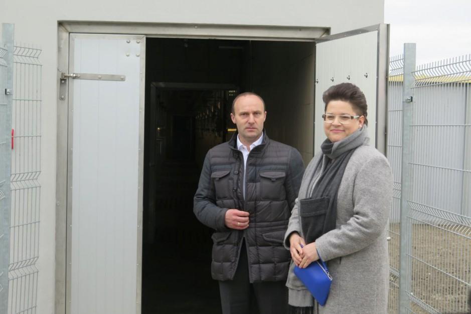 Inwestor Dariusz Jankowiak z żoną Bogną Fot.BW