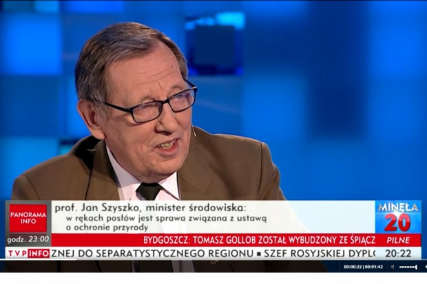 Minister Szyszko chce włączyć myśliwych do Obrony Terytorialnej