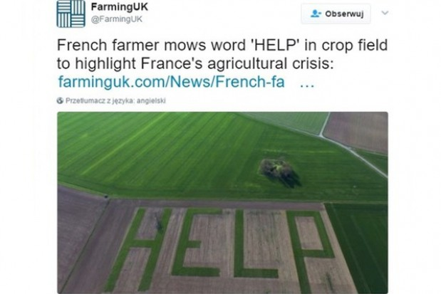 Źródło: Zrzut ekranu Twitter/FarmingUK
