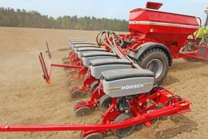Innowacyjne punktowanie - siewniki do kukurydzy