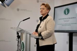 """Ewa Lech: połączenie inspekcji ma się odbyć """"bezkosztowo"""""""