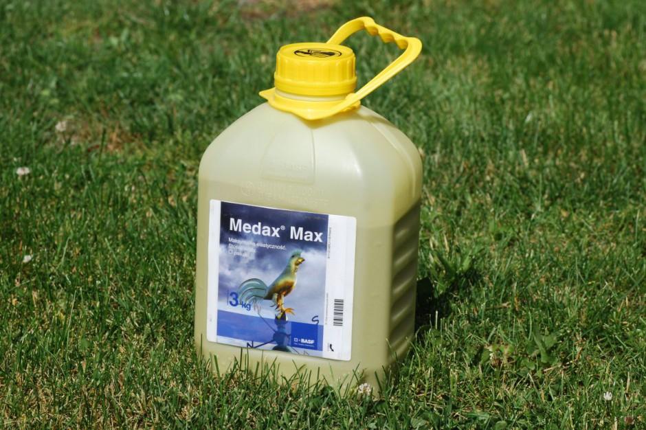 Medax Max zastosowałem w dawce 0,75 kg/ha. Do tego doszedł 1 l CCC
