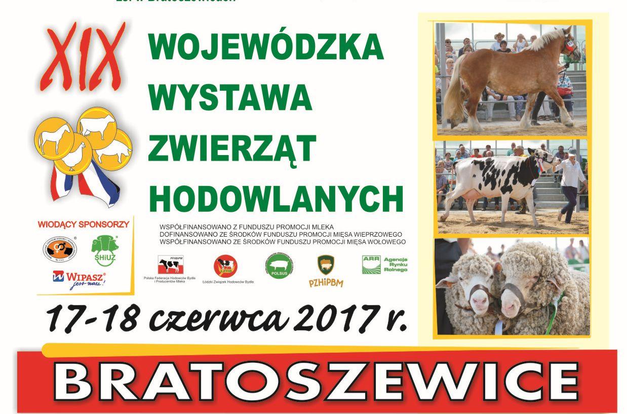 """Targi Rolne """"W sercu Polski""""  oraz XIX Wojewódzka Wystawa Zwierząt Hodowlanych"""