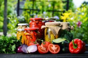 Przetwory z warzyw i grzybów